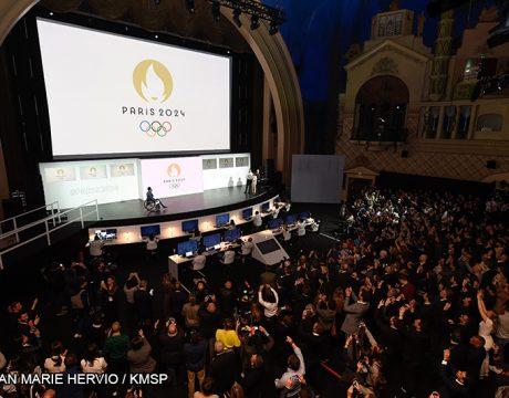 Logo Paris 2024 - Jeux Olympiques - Jeux Paralympiques - Femmes de Sport